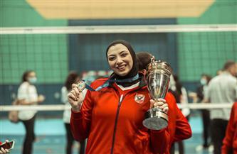 آية الشامي: جهود لاعبات الأهلي وراء التتويج بالدوري