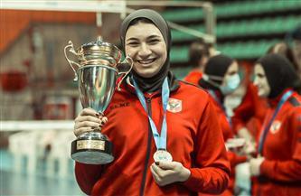 مريم متولي: التتويج ببطولة الدوري أفضل استعداد للحصول على الكأس