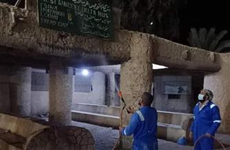 خطة عاجلة لتطهير المباني والمنشآت العامة والحكومية بمدينة سيوة | صور