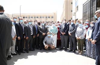 وزيرة الصحة توجه باعتماد المنتجات المصنعة بورش التموين الطبي تمهيدًا للتسويق المحلي والعالمي
