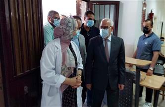 محافظ بورسعيد يفتتح مركز الإرشاد الوراثي ضمن مراكز تلقي لقاح كورونا  صور