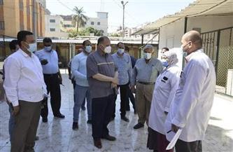محافظ أسيوط يتفقد مخزن المستلزمات الطبية الإقليمي بحي غرب   صور