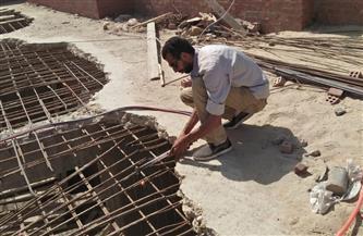 حي العجوزة يتصدى للبناء المخالف في حملة إزالة مكبرة | صور