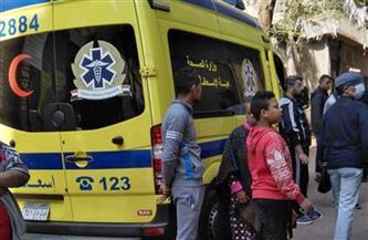 إصابة مواطن في حادث انهيار شرفة عقار في المنصورة