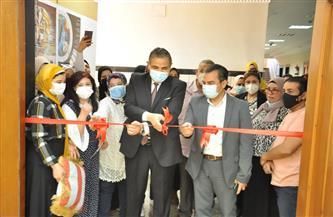 رئيس جامعة كفر الشيخ يفتتح معرض الفن التشكيلي لطلاب «النوعية»   صور