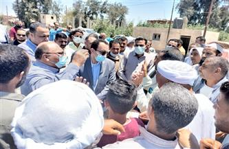 حلول عاجلة لحل مشاكل ضعف مياه الشرب بعدد من القرى بقنطرة الإسماعيلية | صور