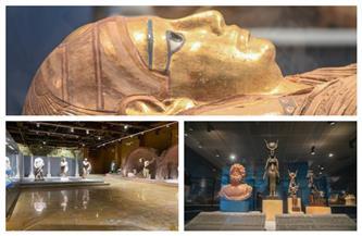تعرف على أبرز القطع الأثرية المعروضة بمتحفي الآثار المصرية بمطار القاهرة الدولي|صور