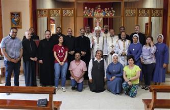 الكنيسة الكاثوليكية تعقد اللقاء الرابع للجنة الأسقفية للتعليم المسيحي   صور