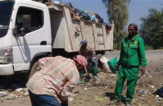 رفع 115 طن قمامة ومخلفات من طرق وشوارع سمنود بالغربية