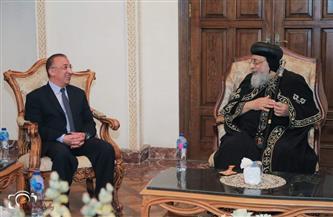 البابا تواضروس يلتقي محافظ الإسكندرية| صور