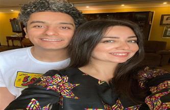 هبه مجدي تحتفل بعيد ميلاد زوجها على طريقتها الخاصة