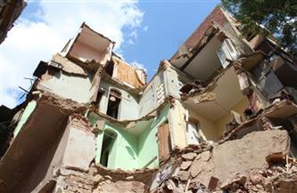 """""""التضامن الاجتماعي"""" تقدم مساعدات عاجلة لـ 6 أسر بعقار """"كوم الشقافة"""" المنهار بالإسكندرية"""