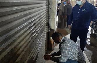 حملة لمتابعة تطبيق الإجراءات الاحترازية ضد فيروس كورونا في حي حدائق القبة