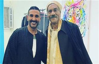 أحمد سعد يوجه لـ سيد رجب: أنت إنسان جميل وممثل عظيم