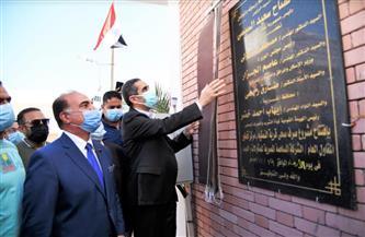 افتتاح محطة صرف صحى و3 مدارس بزفتى وقطور وسمنود بتكلفة 48 مليون جنيه | صور