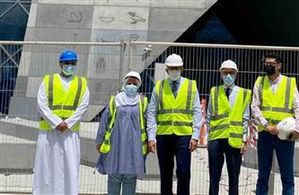 وزير السياحة والآثار يتفقد أعمال جناح مصر المشارك في معرض إكسبو دبي 2020