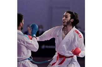 """علي الصاوي يتوج بـ """"برونزية"""" الدوري العالمي للكاراتيه بالبرتغال"""