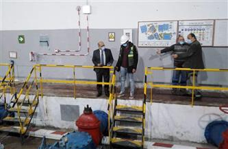رئيس مياه الإسكندرية يجري جولة تفقدية للفروع الإدارية والفنية استعدادا للصيف|صور