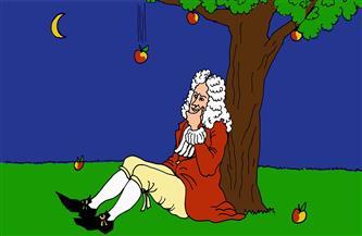 """أثبتها البيروني قبله بـ700عام.. """"لعبة نيوتن"""" وأسطورة التفاحة والجاذبية الأرضية"""