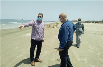 سكرتير عام مساعد بورسعيد يتابع تطبيق قرار غلق الشواطئ| صور