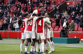 أياكس يتوج رسميًا بلقب الدوري الهولندي للمرة الـ35 في تاريخه