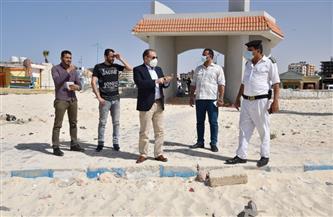 سكرتير عام مطروح يتابع تفعيل إغلاق الشواطئ بالمحافظة| صور