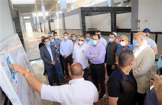تفاصيل تفقد رئيس الوزراء مطار الغردقة الدولي وعدد من مشروعات التطوير بالمدينة| صور