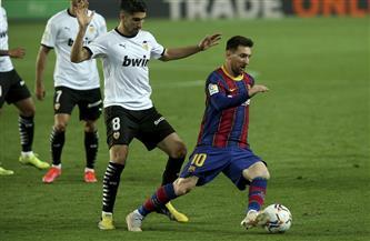 ثنائية «ميسي» تقود برشلونة لفوز ثمين على فالنسيا وتعزيز طموحاته في الدوري الإسباني