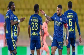 هدف «شرقي» المتأخر يمنح ليون الفوز 3-2 في ملعب موناكو