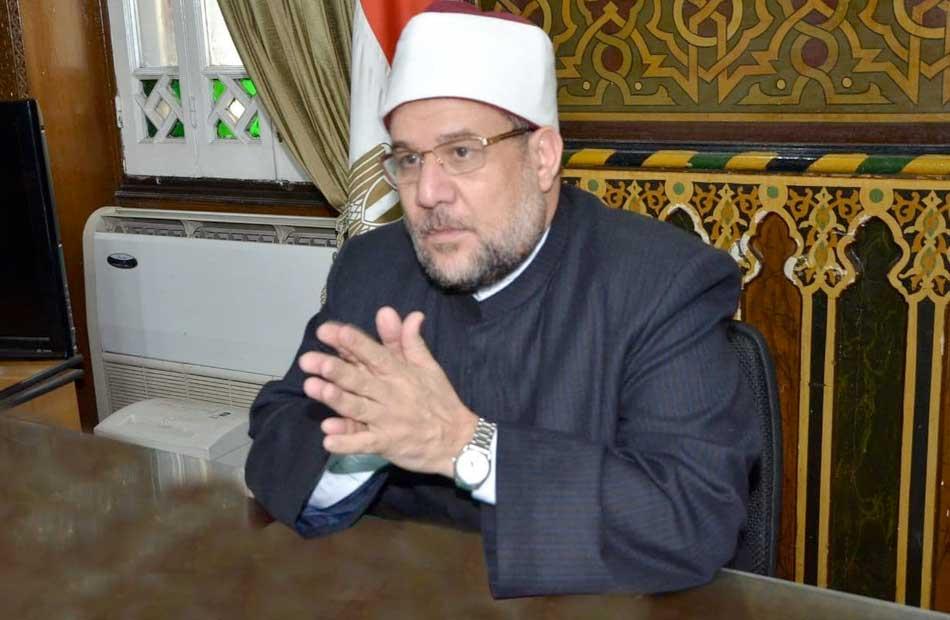 ;الأوقاف; تعفي الشيخ صبري عبادة من منصبه