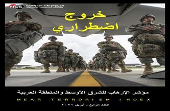 """""""الوطني للدراسات"""" يرصد 198 هجمية إرهابية خلال شهر أبريل ويكشف أسباب انسحاب القوات الأمريكية من أفغانستان"""