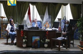 محافظ جنوب سيناء يوجه بسرعة الانتهاء من قضايا التقنين والإزالات للحفاظ على حقوق الدولة |صور