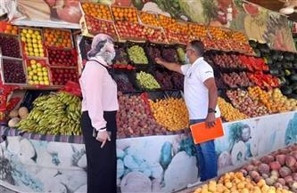 استمرار الحملات التفتيشية بسوق الخضار بالقصير   صور