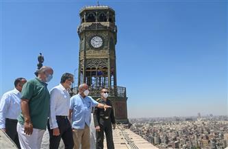 العناني يتفقد مستجدات أعمال الترميم بقلعة صلاح الدين الأيوبي |صور