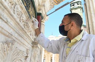 مصطفي وزيري: مشروع تطوير وترميم مسجد محمد علي تم بأيدٍ مصرية خالصة | صور