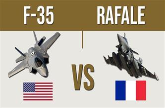 """سماء فرنسا تشهد لقاء قمة بين مقاتلات """"رافال"""" و""""إف – 35"""" في مناورات """"رمح الأطلنطي 21"""""""