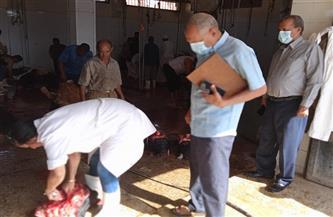 رئيس مدينة سفاجا تكلف لجنة لمتابعة أعمال المجزر وانتظام العمل به   صور
