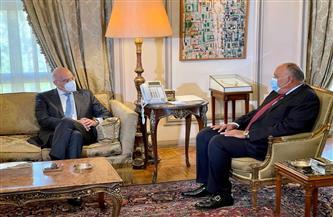 العلاقات الثنائية وجهود التهدئة فى فلسطين ونقل الغاز الطبيعي.. تعرف علي تفاصيل مباحثات مصر واليونان