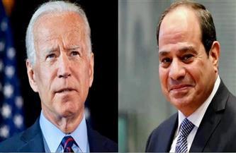 الرئيس السيسي يشيد بدور الرئيس الأمريكي في إنجاح المبادرة المصرية لوقف إطلاق النار وتحقيق التهدئة