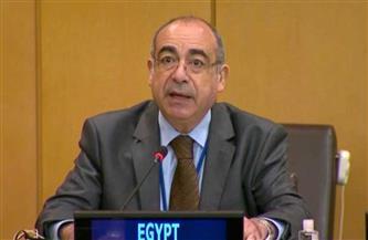 مندوب مصر لدى الأمم المتحدة: سنواصل بذل كل الجهد من أجل حقوق الشعب الفلسطيني المشروعة