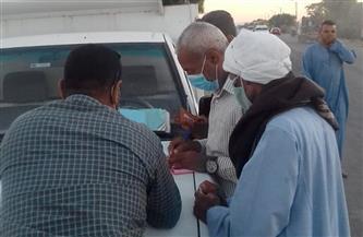تحرير 10 مخالفات لعدم ارتداء الكمامات خلال حملة بحي شمال الغردقة
