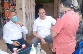 نائب محافظ القاهرة يتابع صرف تعويضات شارعي المشروع وكمال حجاب