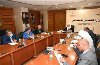 القباج تعقد اجتماعا لاستعراض نتائج أعمال لجنة الحماية الاجتماعية لأعضاء النقابات الفنية  صور