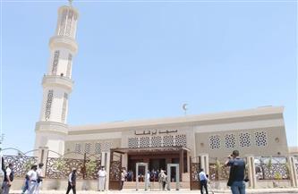 بدء التوافد على مسجد «أبو شقة» في أكتوبر تمهيدًا لافتتاحه | صور