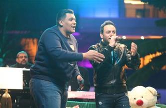 مصطفى قمر ضيف حلقة الغد من «سعفان في التليفزيون»