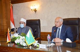 محافظ الجيزة: وزير الأوقاف صاحب همة عالية في مجال الدعوة وإعمار المساجد