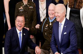 الرئيسان الأمريكي والكوري الجنوبي يبحثان كيفية التعامل مع كوريا الشمالية