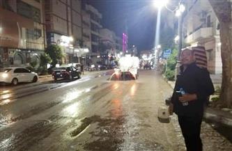 استمرار حملات التطهير والنظافة بمدينة الأقصر للحد من انتشار كورونا