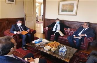 وزير التعليم العالي يزور معهد كوري لعلاج الأورام في فرنسا| صور