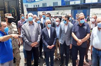 وزير الزراعة ومحافظ بورسعيد يفتتحان مصنع إنتاج الأعلاف بالمنطقة الصناعية |صور